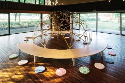 トラフ建築設計事務所 子どものへや 2018年 撮影:三嶋義秀 安曇野ちひろ美術館にて