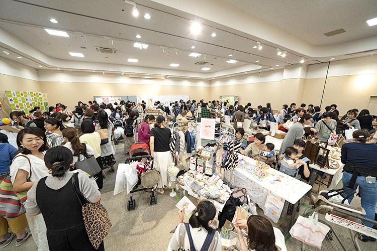 かわいいハンドメイド雑貨がいっぱい♪お気に入りを見つけちゃおう!※高崎での開催の様子