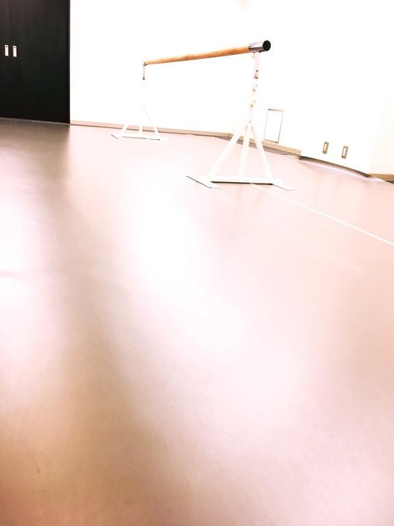 開催場所のバレエスタジオ