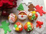 【たまプラーザ】クリスマスワークショップマーケット-マシュマロフォンダンント&アイシングクッキー-