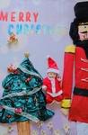 クリスマス*くるみ割り人形*おひるねアート体験会