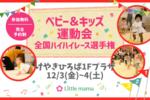【埼玉】12/3-4けやきひろば ベビー&キッズ運動会