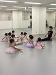 親子バレエ体験レッスン@東京バレエスタジオ西新宿校