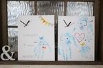 大阪 赤ちゃんから小学生 親子で世界に一つだけの手形・足形アート時計づくりWS