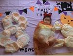 川越 10月 赤ちゃんとハロウィンお出かけイベント ベビーヨガとおむつでベビーアート