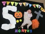 川越 10月 ハロウィン撮影オプションあり 赤ちゃんとハロウィンお出かけイベント ベビーヨガとおむつでベビーアート