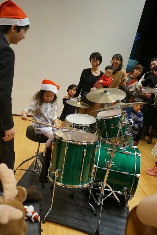 12月のクリスマスジャズコンサートの様子です。