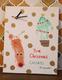 名古屋 赤ちゃんから小学生・クリスマス大作戦・親子で世界に一つだけの手形・足形アート時計づくりWS