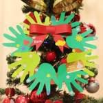 【鶴見区・ベルクフォルテ森永橋店】かわいいお子さまの手形で♪クリスマスリース作り&ベルクで親子交流会