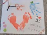2月 神戸 赤ちゃんとママのための 世界に一つだけのアート時計づくり