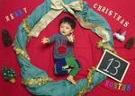 朝霞★特別クリスマスイベント★2大お楽しみ付き 無料クリスマスアート撮影と手形足形での時計作り<赤ちゃんとママのポカポカ親子ヨガ>