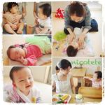 親子カフェでランチ付きベビーマッサージ&親子ワークショップ@井の頭公園