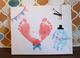川崎 赤ちゃんと世界に一つの父の日プレゼント作り☆アート時計づくり