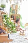 高円寺のおしゃれなカフェを貸し切ってファミリーフォト撮影会