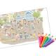 【横浜市・都筑区】子どもも大人も夢中になる♪ 巨大ぬり絵に挑戦! ~まちスキふじのき台プロジェクト~