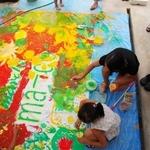 【静岡市・葵区】夏休み★親子アートワークショップ「色で遊ぼう!!」@MARK IS 静岡