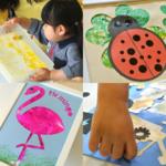 [2歳]飾れる作品を造ろう!Babyアート☆Weather(天気)