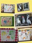 10月23日浦和赤ちゃんのワークショップ時計付手形足形アート
