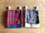 【ママのお洋服が、大切なお子様の布小物に変身‼️手縫いでちくちく 簡単リメイク移動ポケットを作ろう♡】