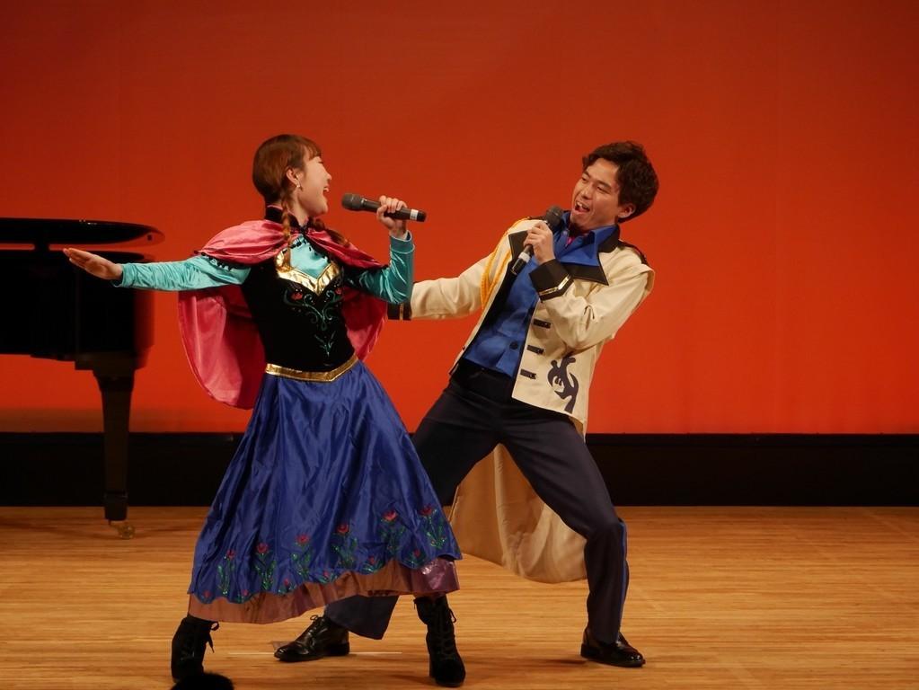 前回のミュージカルハイライトのお写真、「アナと雪の女王」より