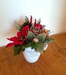 【11/29(木)】1時間で作るクリスマスアレンジ〜香るフレッシュリーフ&アーティフィシャルフラワーを使って〜