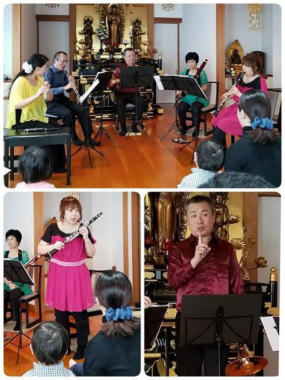 出演者が音楽や楽器のお話をわかりやすく説明してくれます。みんな楽器博士になろう!