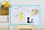 12/14金★写真も飾れる手形アート&マステワーク@梅田★撮影つき