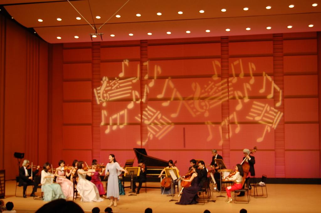 日本フィルハーモニー交響楽団による演奏