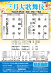 三月大歌舞伎(昼の部)