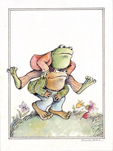 アーノルド・ローベル (アメリカ) 『ふたりはいっしょ』のイメージ 1980年