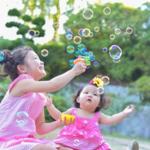 【横浜市・都筑区】春あそび♪いろんな素材でシャボン玉